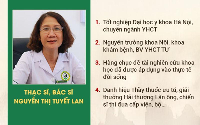 Bác sĩ Nguyễn Thị Tuyết Lan