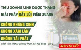 """""""Đẩy lùi"""" VIÊM XOANG với bài thuốc 100% nam dược của Bệnh viện Tai Mũi Họng Quân dân 102"""