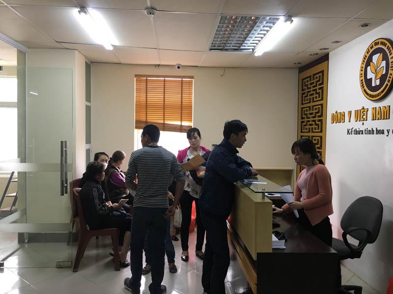 Trung tâm Đông y Việt Nam được nhiều bệnh nhân tin tưởng, lựa chọn