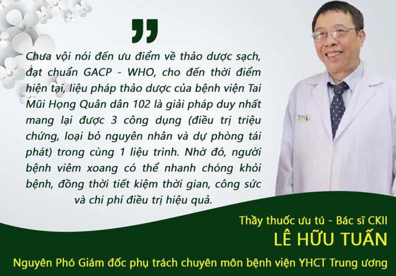 Đánh giá của chuyên gia Lê Hữu Tuấn