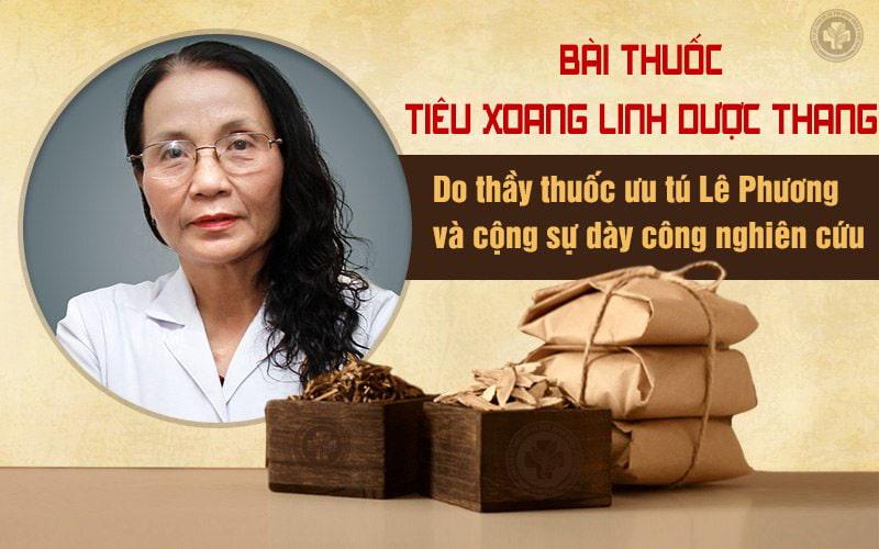 Tiêu xoang linh dược thang do bác sĩ Lê Phương và cộng sự nghiên cứu