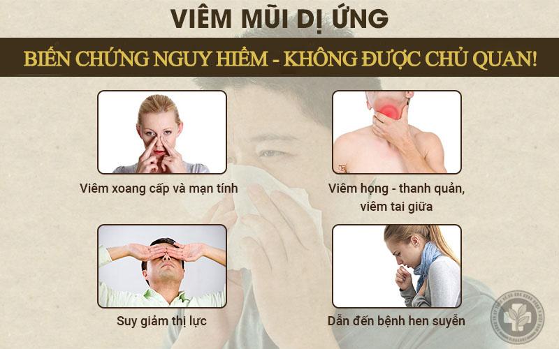 Viêm mũi dị ứng gây nhiều biến chứng nguy hiểm, không được chủ quan