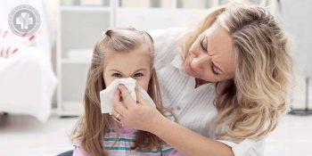 Trẻ nhỏ là đối tượng dễ bị viêm mũi dị ứng do hệ miễn dịch kém ổn định