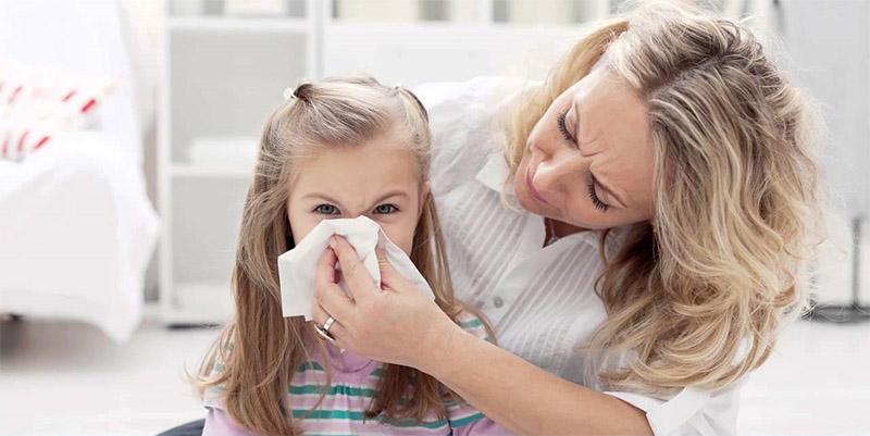 Viêm mũi dị ứng là bệnh phổ biến ở trẻ nhỏ