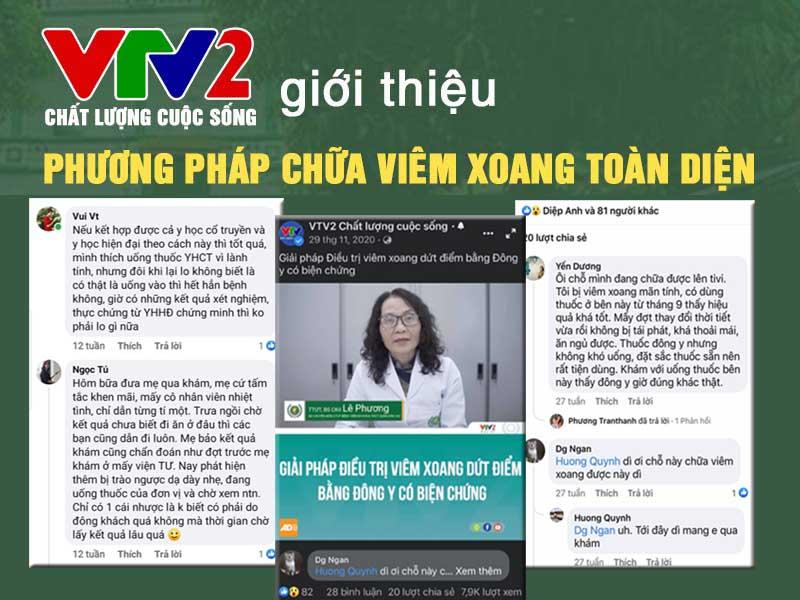 VTV2 đưa tin giải pháp chữa viêm xoang Quân dân 102