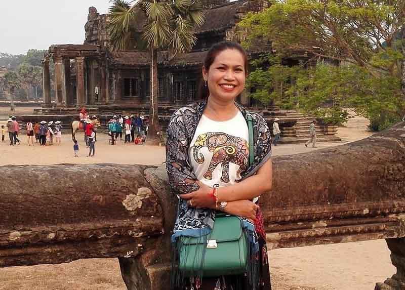 Chị Vũ Thị Thùy Vân bị viêm xoang trán từ những năm 20 tuổi