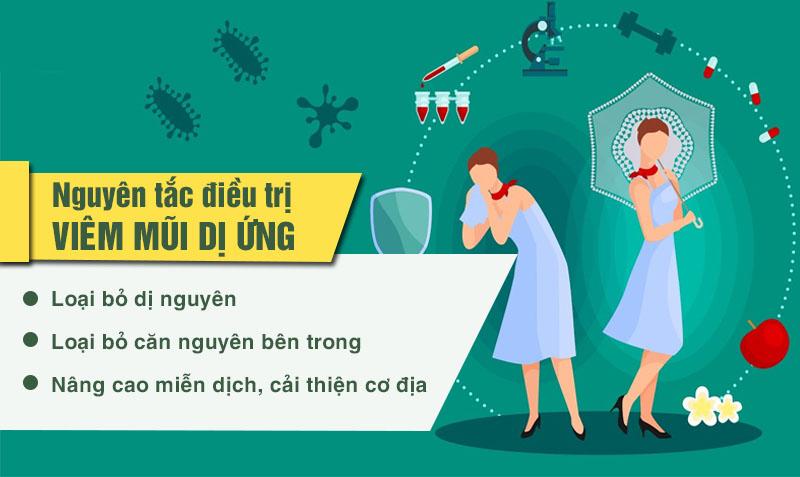 Nguyên tắc quan trọng khi điều trị viêm mũi dị ứng